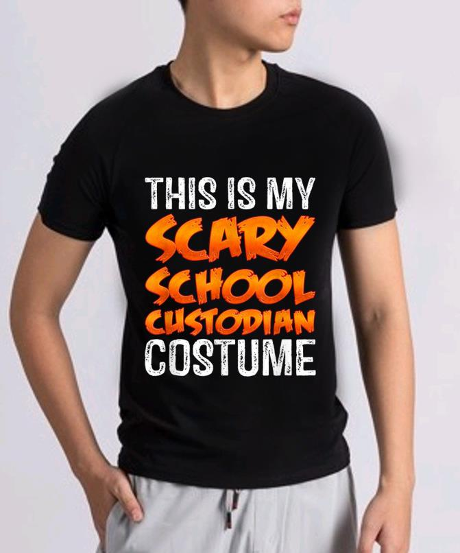Hot This Is My Scary School Custodian Costume Funny Halloween Shirt 2 1.jpg