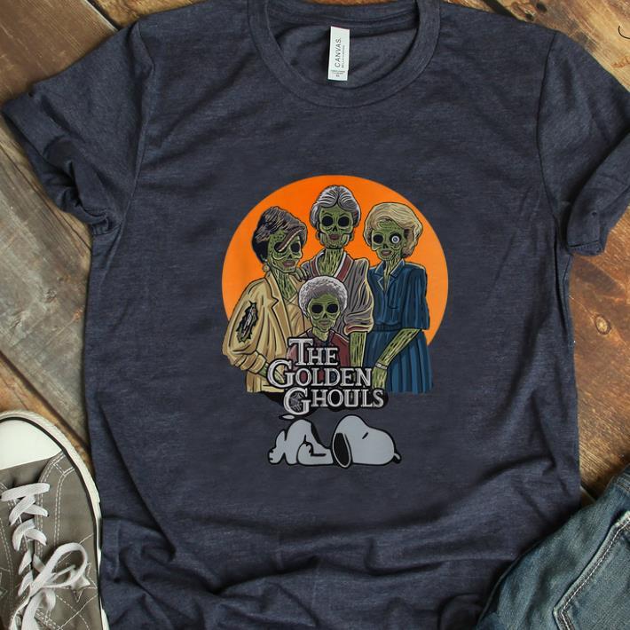 Hot Vintage The Golden Ghouls Snoopy Halloween Shirt 1 1.jpg
