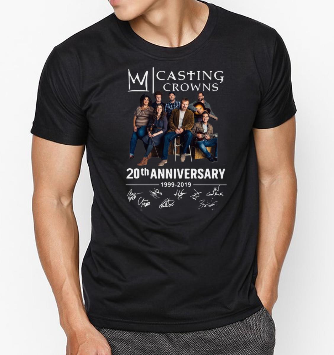 Nice 20th Anniversary 1999 2019 Signatures Casting Crowns Shirts 3 1.jpg