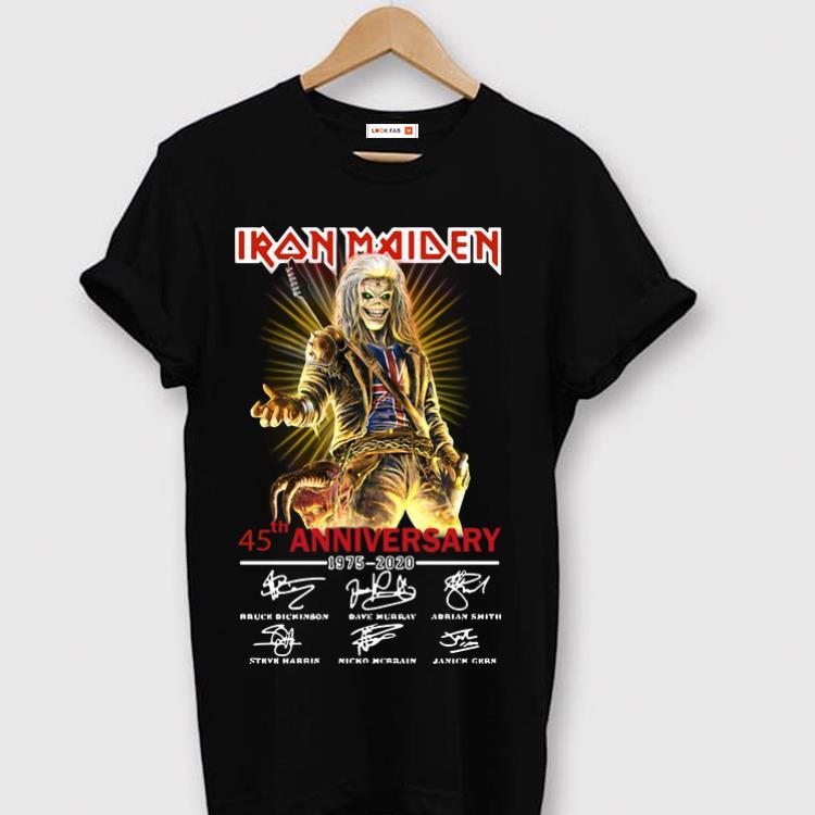 Nice 45th Anniversary 1975 2020 Iron Maiden Signatures Shirt 1 1.jpg