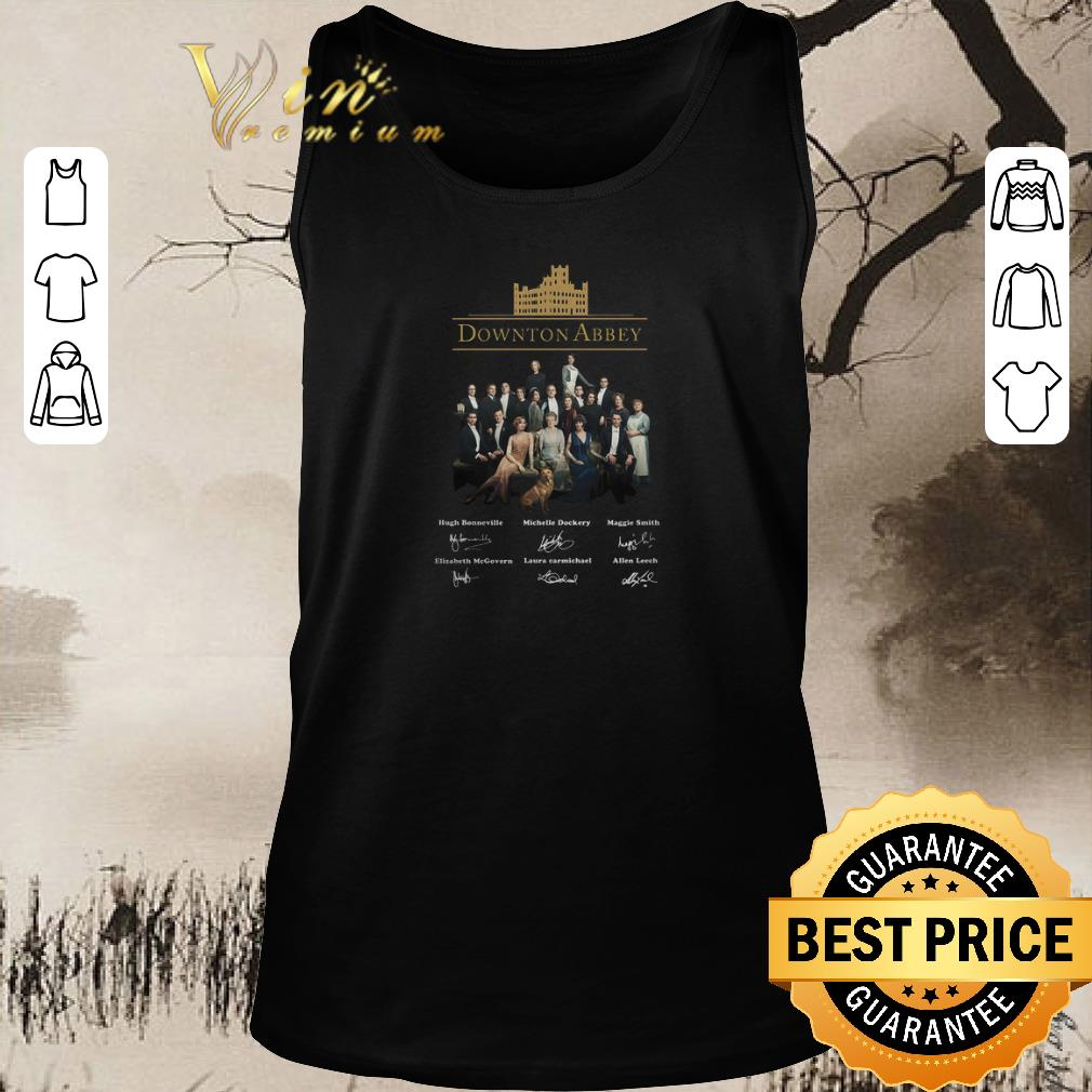 Nice Downton Abbey All Character Signatures Shirt Sweater 1 1.jpg