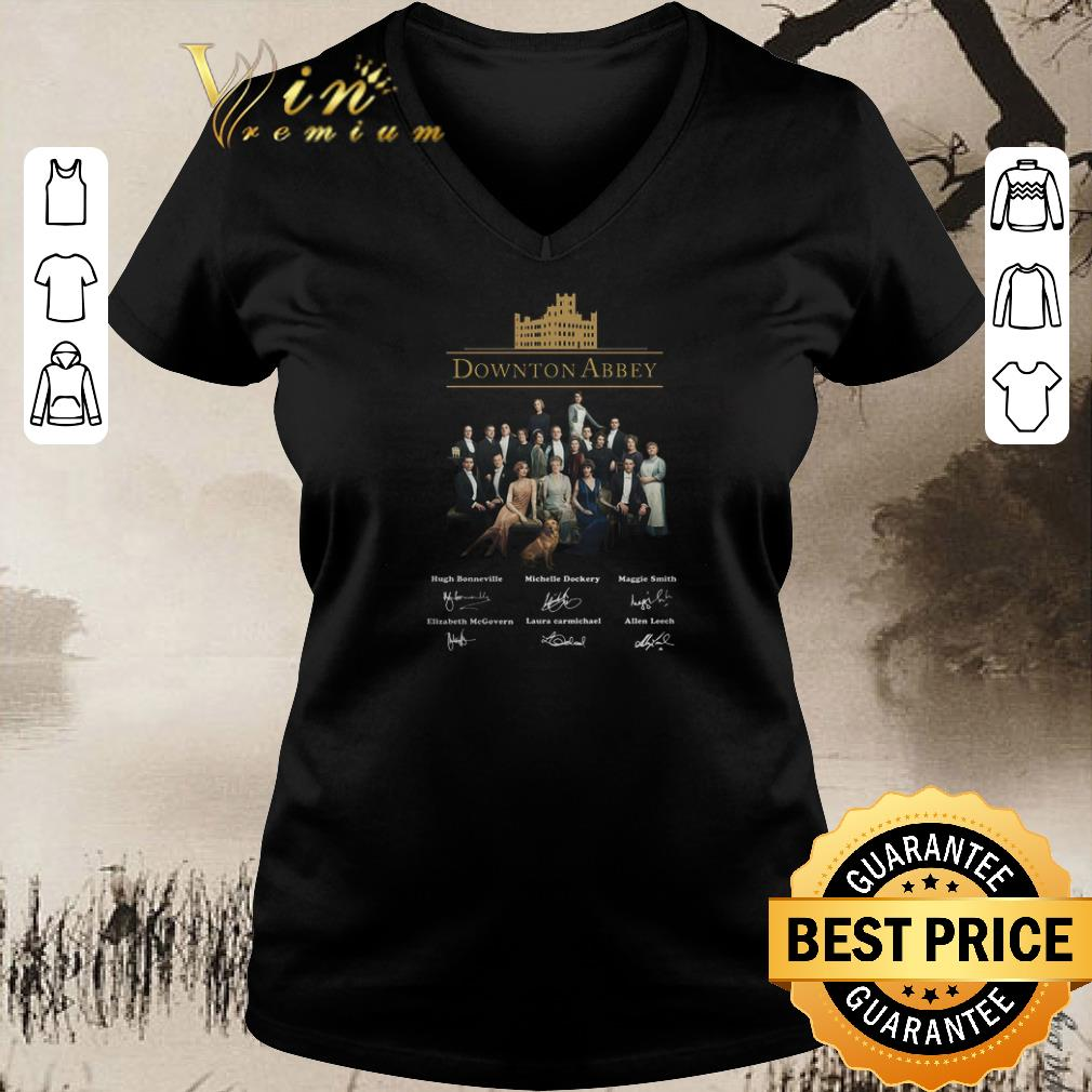 Nice Downton Abbey All Character Signatures Shirt Sweater 2 1.jpg