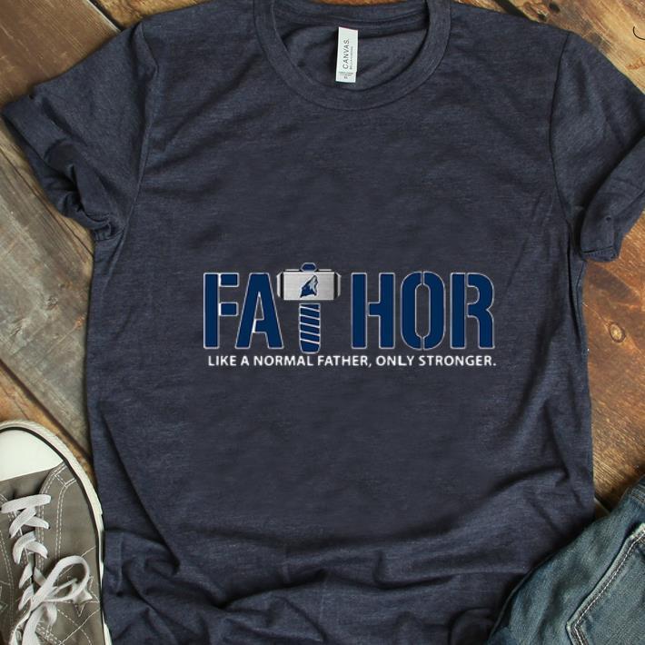 Nice Fathor Like Normal Father Only Stronger Minnesota Timberwolves shirt