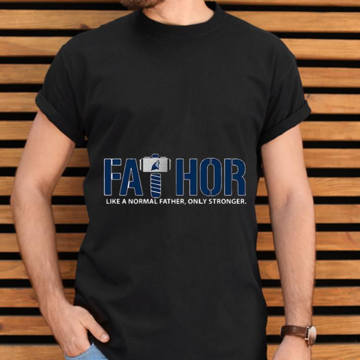 Nice Fathor Like Normal Father Only Stronger Minnesota Timberwolves Shirt 2 1.jpg