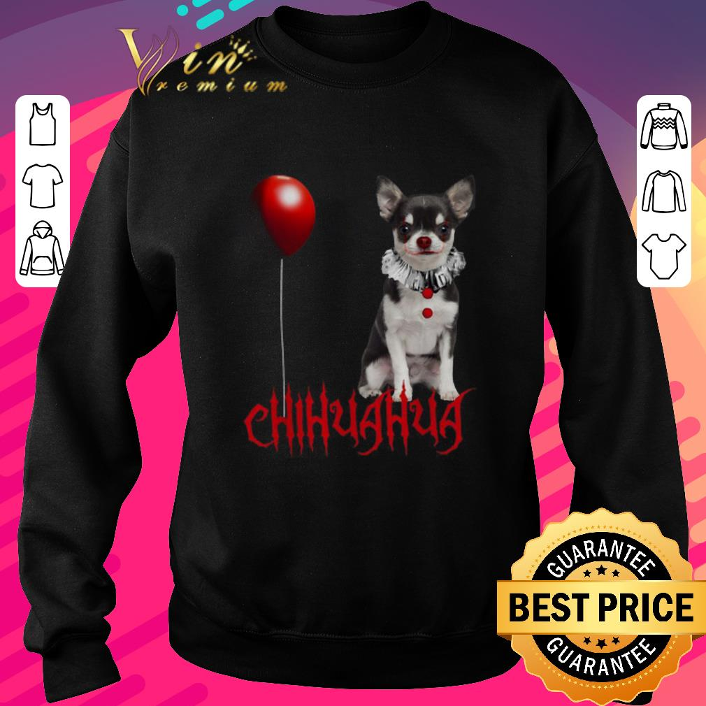 Nice IT Pennywise Chihuahua shirt