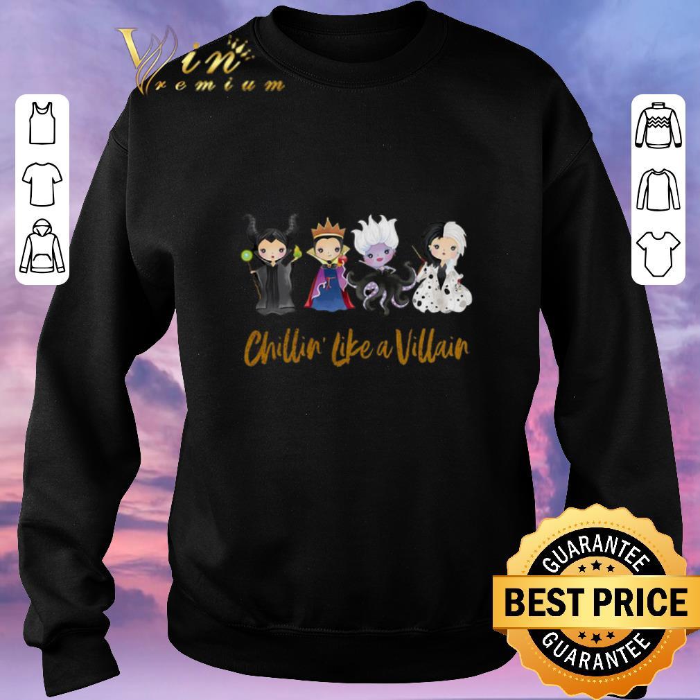 Nice Maleficent Chillin Like A Villain Disney Halloween Shirt Sweater 3 1.jpg