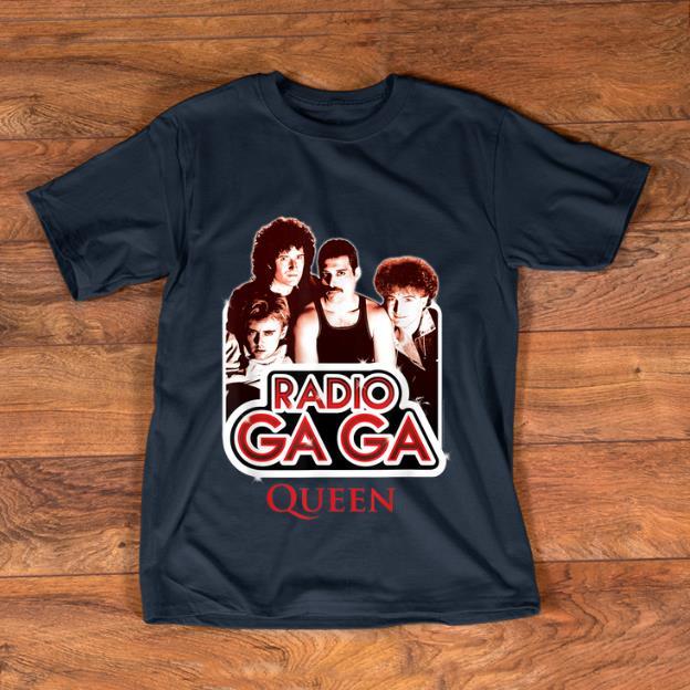 Nice Queen Official Radio Gaga shirt