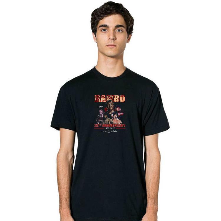 Nice Rambo 38th Anniversary 1982 2020 Signature Shirts 2 1.jpg