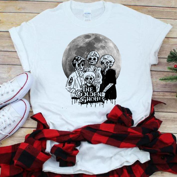 Nice The Golden Ghouls Halloween shirt