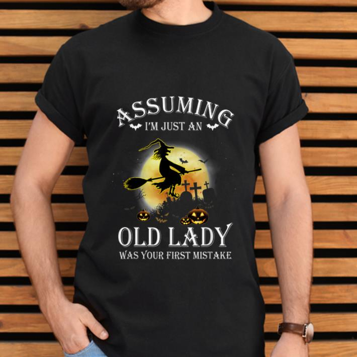 Official Assuming I M Just An Old Lady Witch Halloween Shirt 2 1.jpg