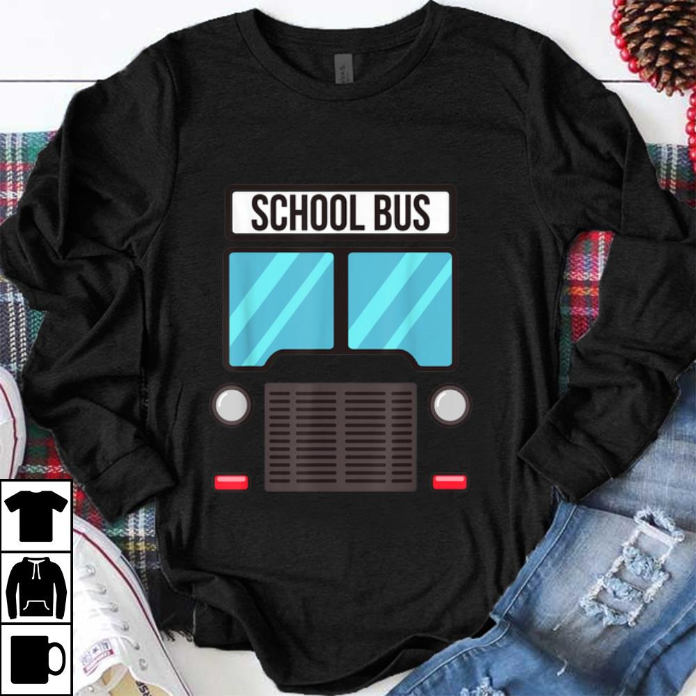 Official Funny School Bus Driver Halloween Costume Gift Kids Mens shirt
