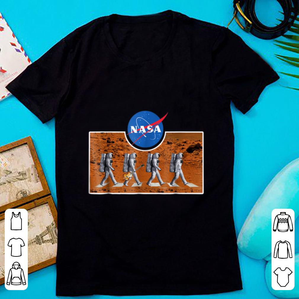 Official The Abbey Astronaut Mars Crossing NASA shirt