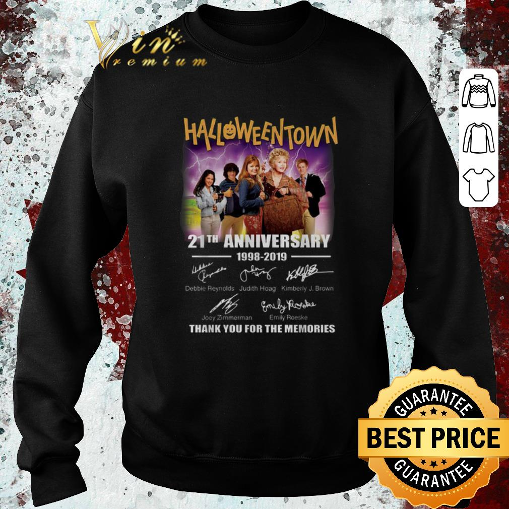 Original Halloweentown 21th anniversary 1998-2019 signatures shirt