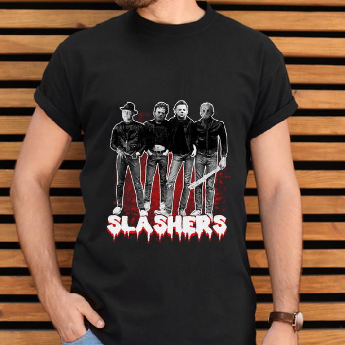 NEW Freddy Krueger Leatherface Michael Myers Jason Voorhees on truck T Shirt