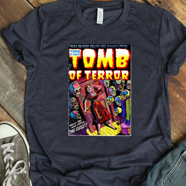 Original Tomb of Terror #11 Horror Comic Book Cover shirt
