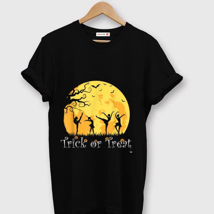 Original Trick Or Treat - Ballet Dancer Dancing Halloween shirt