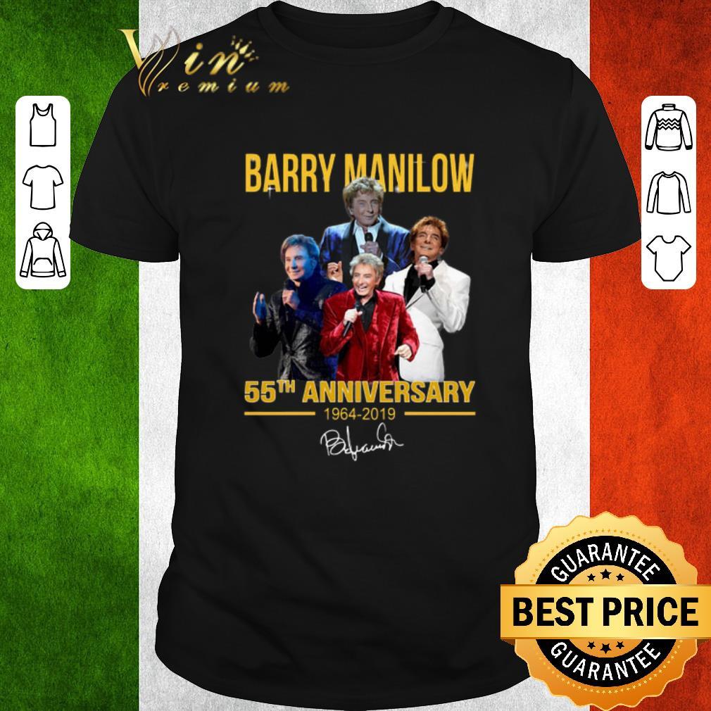 Premium Barry Manilow 55th Anniversary 1964 2019 Signature Shirt 1 1.jpg