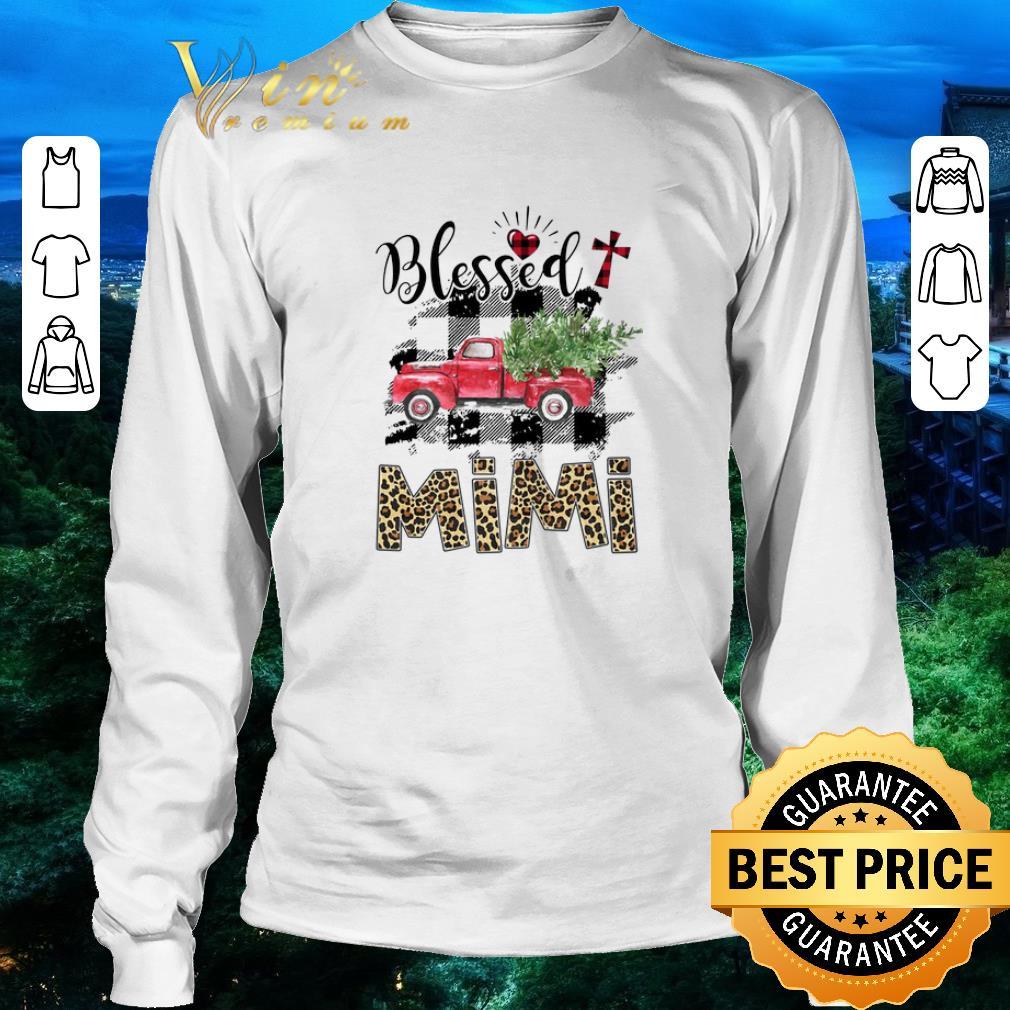 Premium Truck Blessed Mimi Christmas Shirt 3 1.jpg