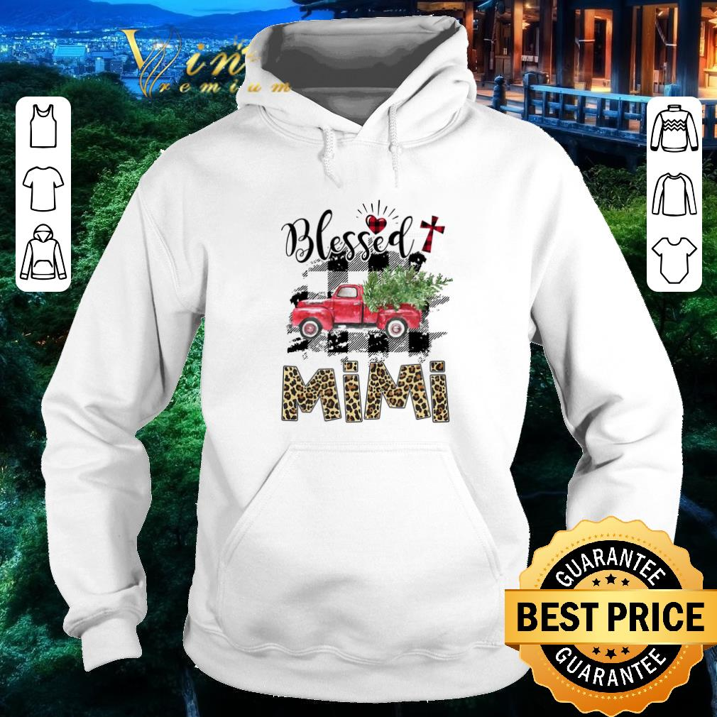 Premium Truck Blessed mimi Christmas shirt