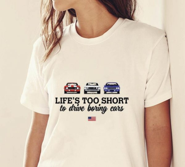 Pretty 1970 Plymouth Road Runner Life Too Short To Drive Boring Cars American Flag Shirt 2 1.jpg