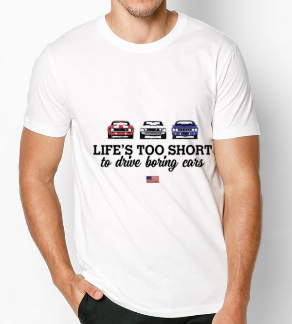 Pretty 1970 Plymouth Road Runner Life Too Short To Drive Boring Cars American Flag Shirt 3 1.jpg
