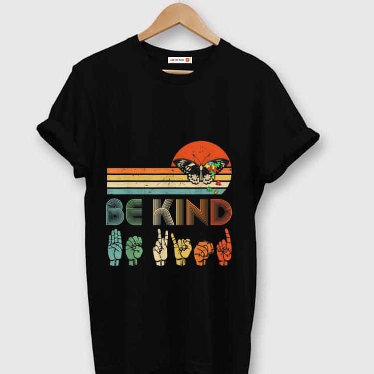 Pretty Be Kind Kindness Butterfly Vintage Shirt 1 1.jpg
