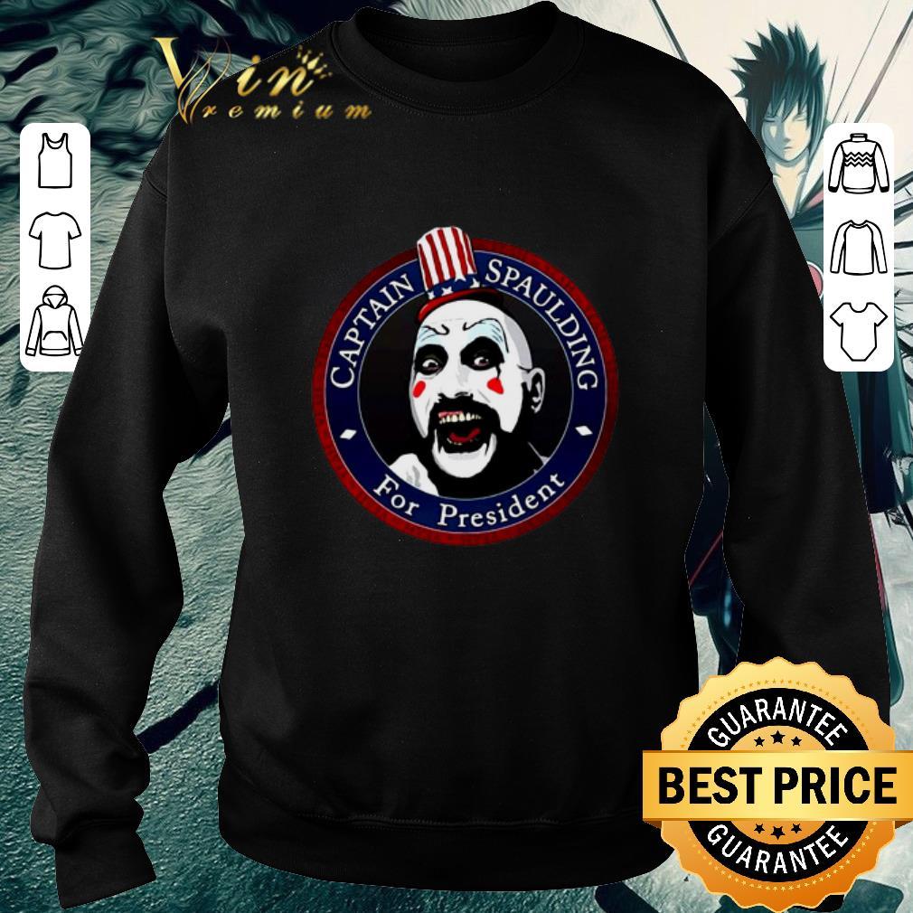 Pretty Captain Spaulding For President shirt