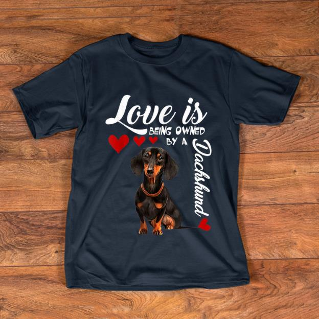 Pretty Love Is Being Owned By A Dachshund Shirt 1 1.jpg