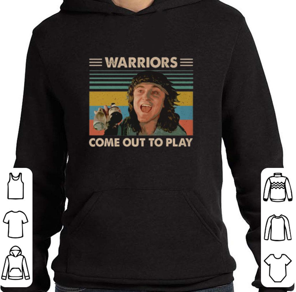 Pretty The Warriors come out to play vintage David Patrick Kelly shirt