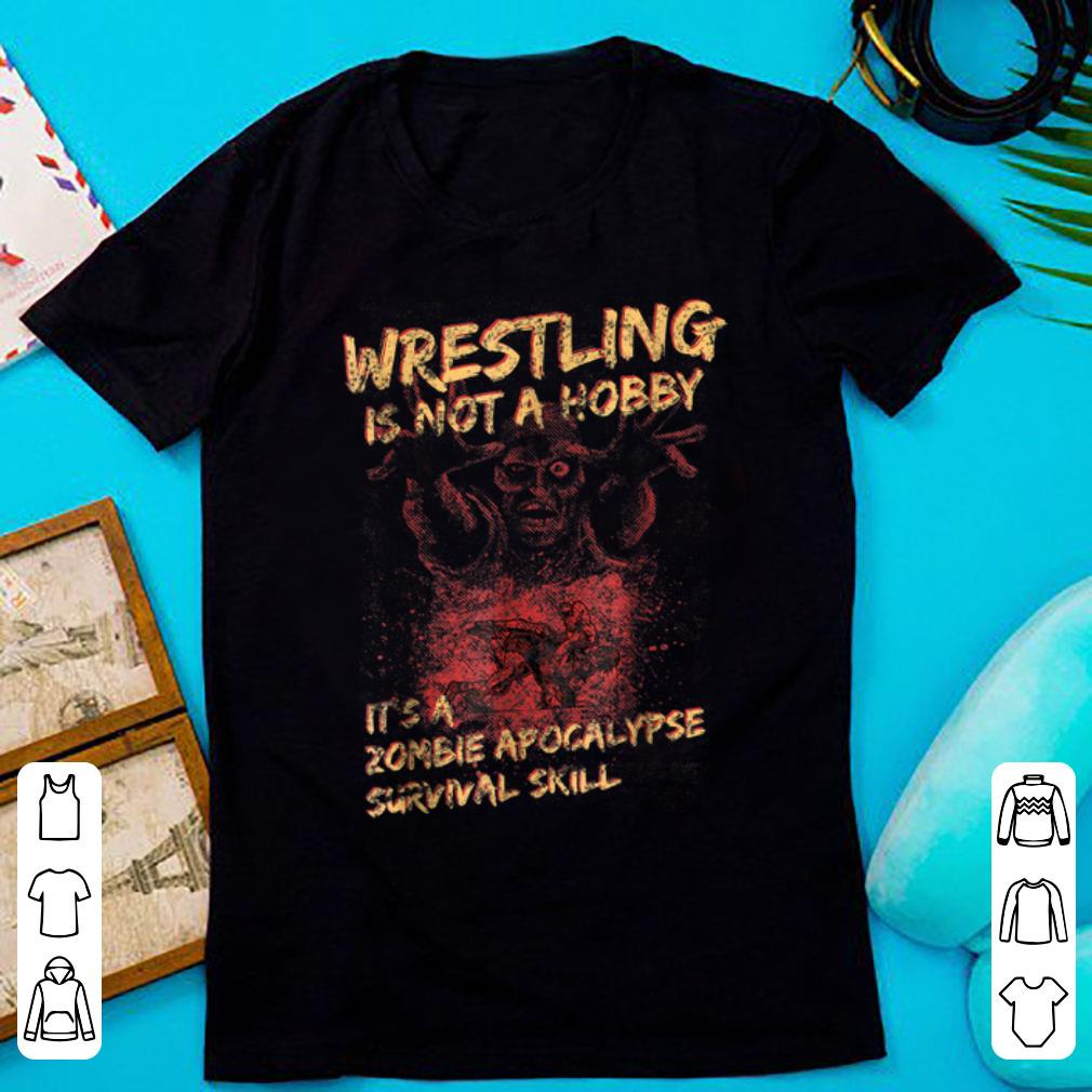 Pretty Wrestle For Men, Women & Kids Halloween shirt