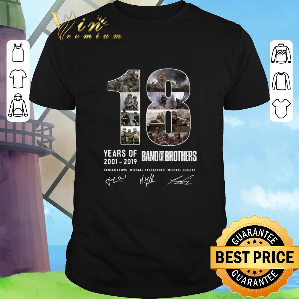 Top 18 Years Of Band Of Brothers Signatures Shirt 1 1.jpg
