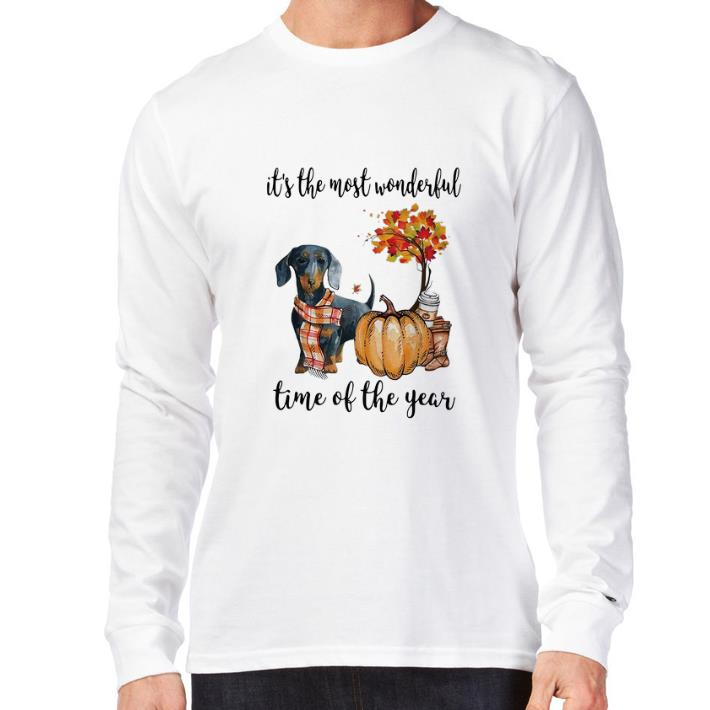 Top Dachshund It S The Most Wonderful Time Of The Year Shirt 3 1.jpg