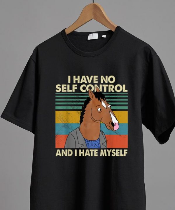 Top I Have No Self Control And I Hate Myself Horse Vintage Shirt 2 1.jpg