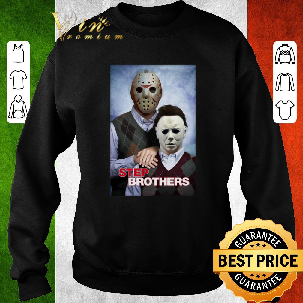 Top Jason Voorhees and Michael Myers step brothers shirt