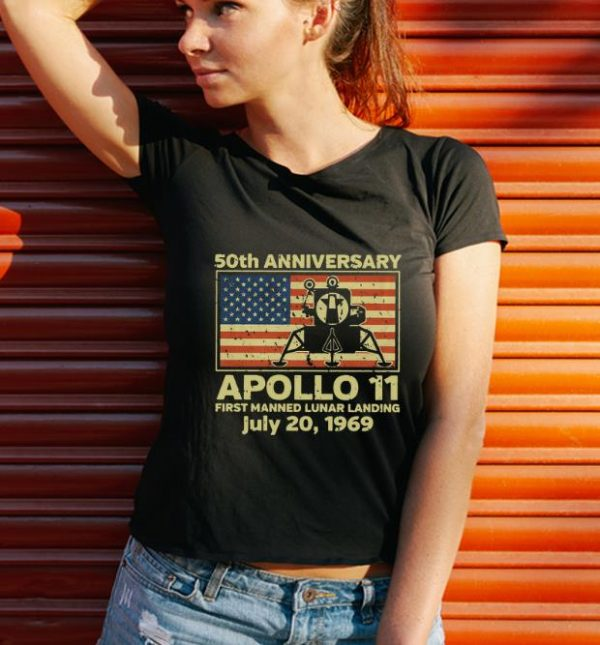 Awesome Apollo 11 First Manned Lunar Landing July 20 1969 50th Anniversary Shirt 3 1.jpg