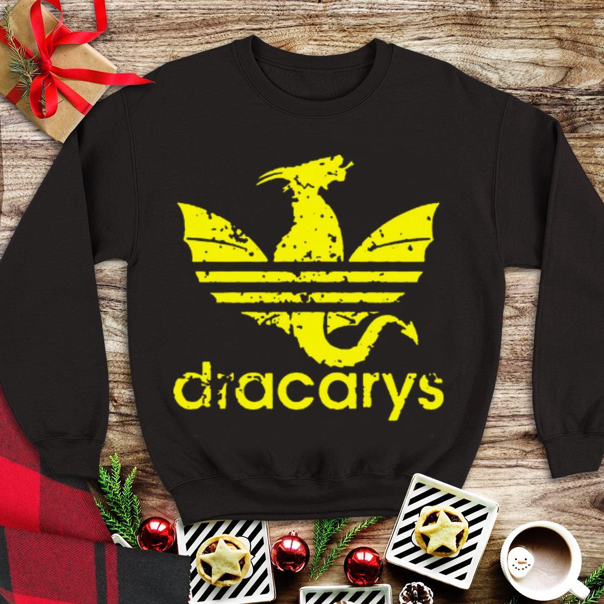 Awesome Dragon Adidas Dracarys Game Of Thrones shirt