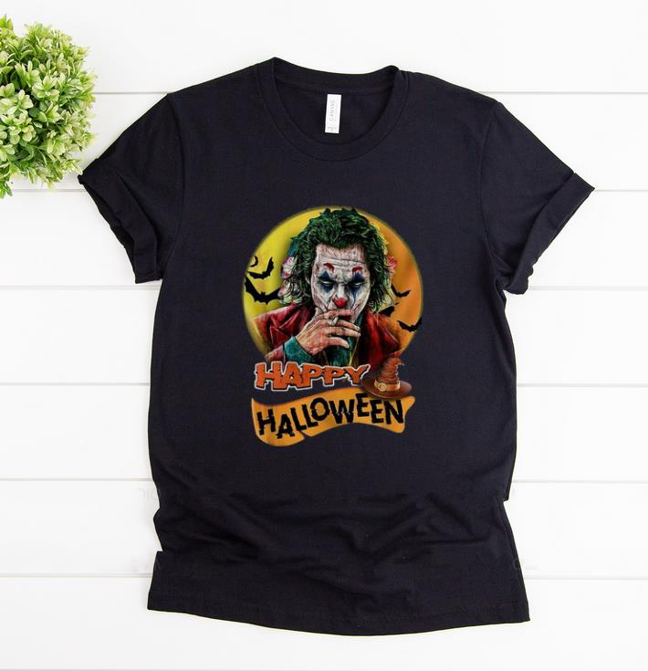 Awesome Happy Halloween Joker Joaquin Phoenix Sunset Shirt 1 1.jpg