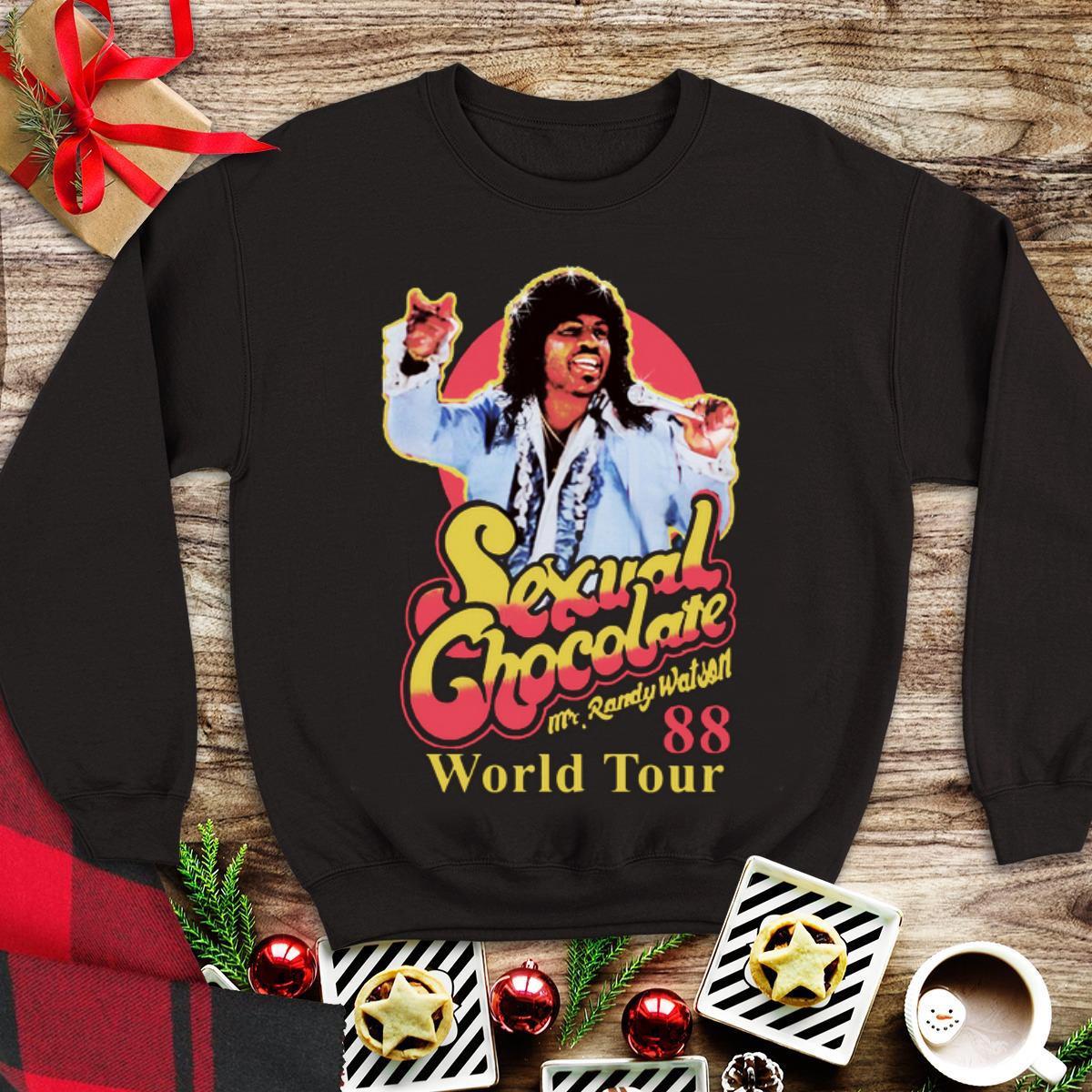 Awesome Mr Randy Watson World Tour 88 Sexual Chocolate shirt