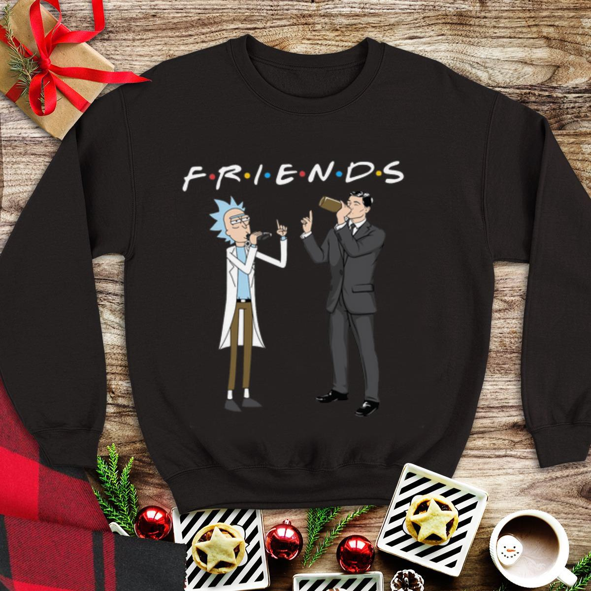 Awesome Rick And Morty Archer Friends Shirt 1 1.jpg