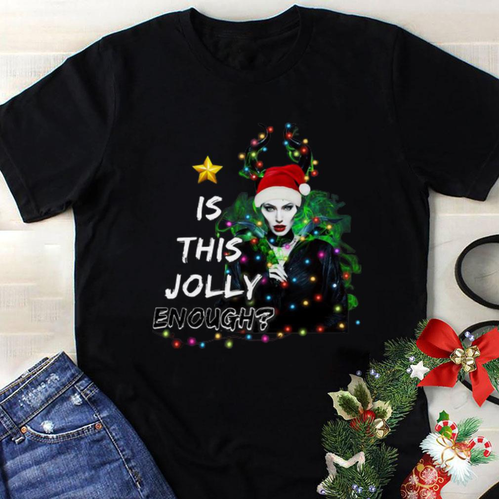 Awesome Santa Maleficent Is This Jolly Enough Christmas Shirt 1 1.jpg