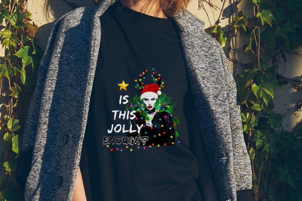 Awesome Santa Maleficent Is This Jolly Enough Christmas Shirt 2 1.jpg