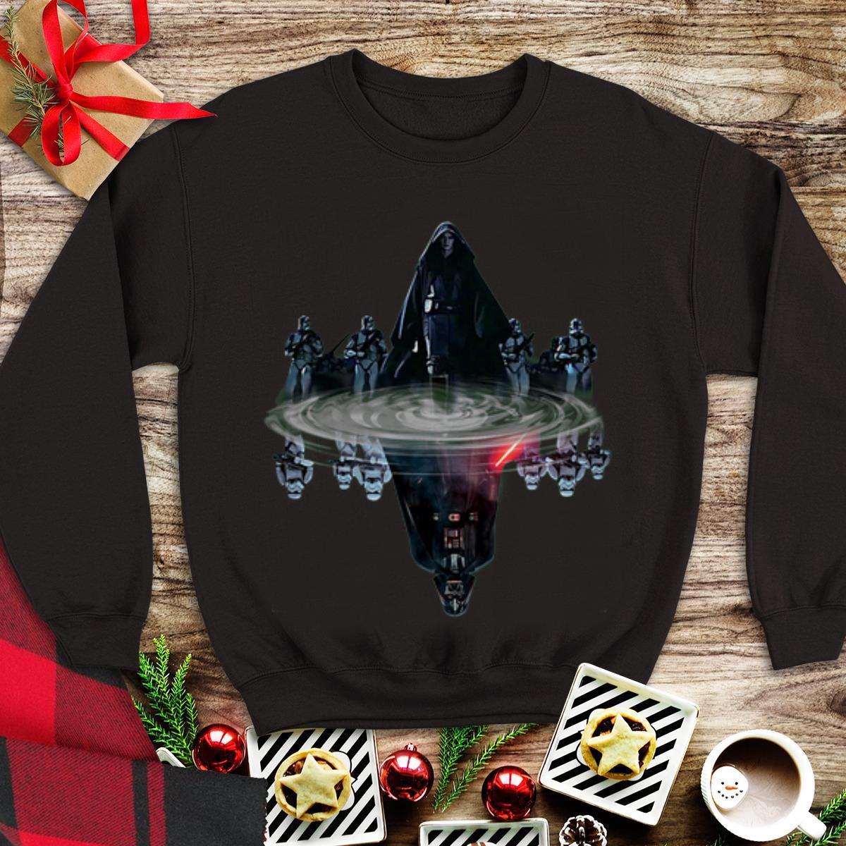 Awesome Star Wars Dark Vader Reflection Mirror Water shirt