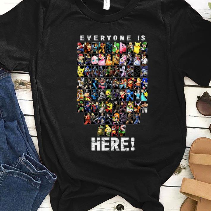 Awesome Super Smash Bro Everyone Is Here Shirt 1 1.jpg