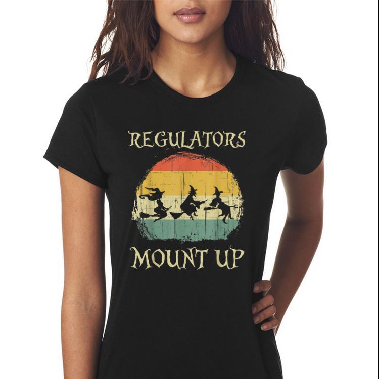 Awesome Vintage Regulators Mount Up Halloween Witch Shirt 3 1.jpg