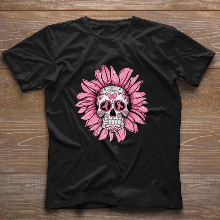 Funny Breast Cancer Awareness Sugar Skull Sunflower Shirt 1 1.jpg