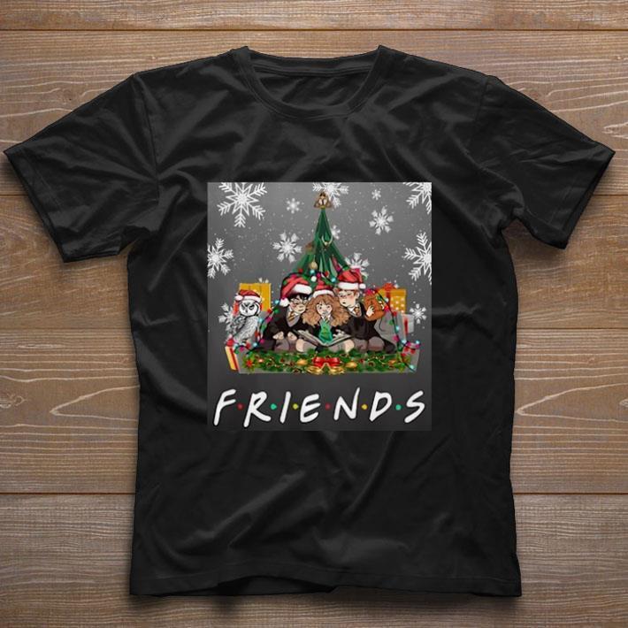 Hot Harry Potter Friends Hermione Ron Weasley Owl Christmas Shirt 1 1.jpg