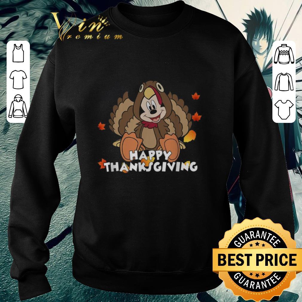 Hot Mickey Mouse Happy Thanksgiving Turkey shirt