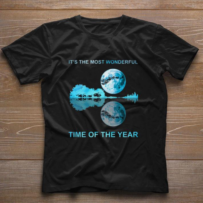 Hot Moon Christmas It S The Most Wonderful Time Of The Year Guitar Lake Shirt 1 2 1.jpg