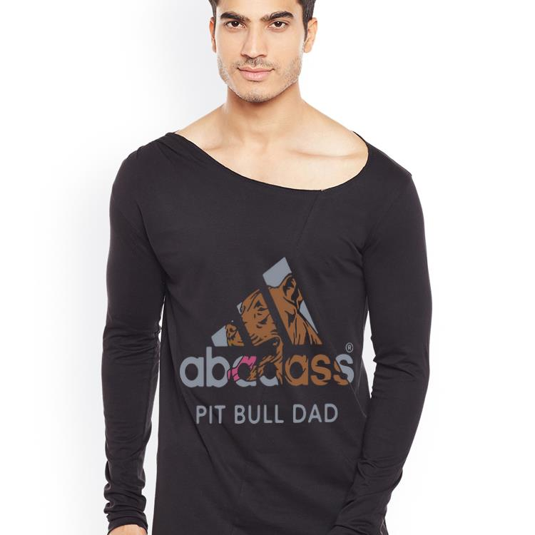 Hot Pit Bull Dad Adidas Abadass shirt