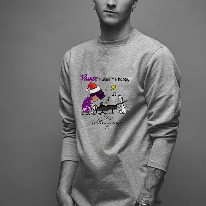 Hot Prince Makes Me Happy Schroeder Snoopy Peanuts Signature Shirt 2 1.jpg